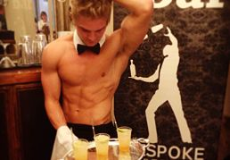 Butlers in the buff in Derbyshire and the Peak District