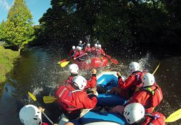 Hen Party River Rafting