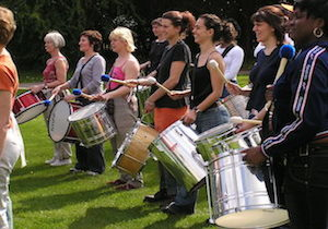 Drumming Experience in Derbyshire HDK
